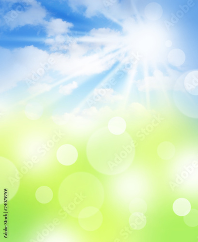 abstract background with sky