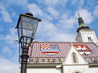 St. Marcos church (Zagreb, Croatia)