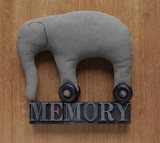 memory word with elephant