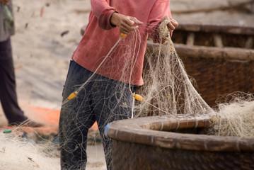 Fisherman's nets