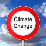 klimawandel, climate change, sign, reduktion poster