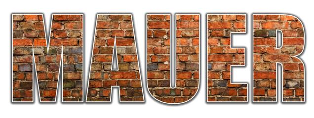 Text - Mauer