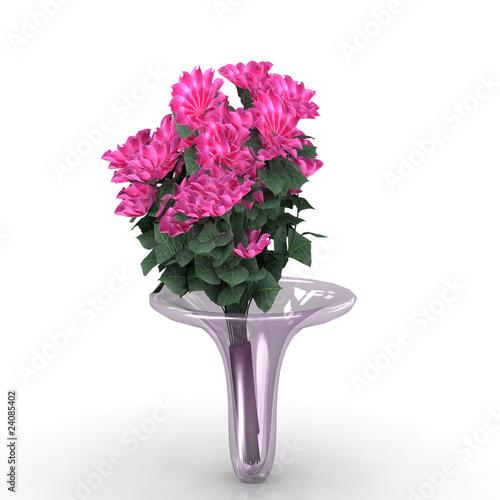Blumenvase mit Blumen