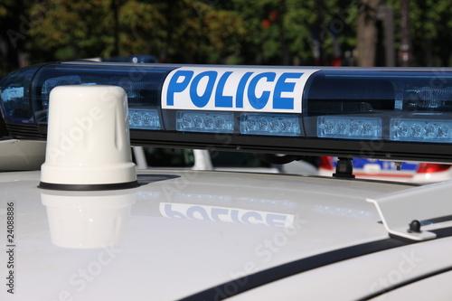 Gyrophare police