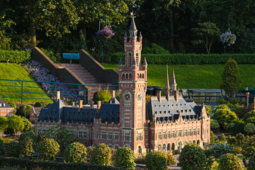 Evening light in Madurodam