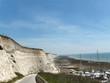 costa de acantilado blanco Brighton Inglaterra