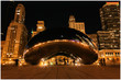 Chicago Beam at winter night - 24094480