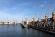 Cargo seaport, Odessa, Ukraine