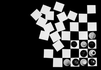 concept chess board