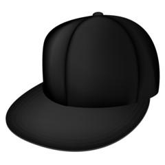 Black full cap