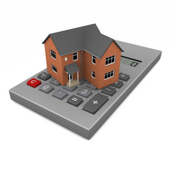 3d House price calculation