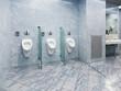 Modern public wc