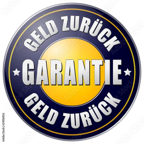 Garantie - Geld zurück