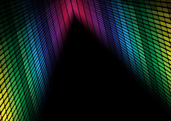 Abstract Background - Multicolor Equalizer