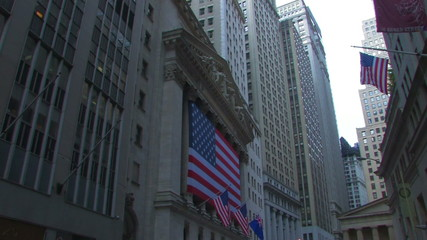 Wall Street Stock Market New York