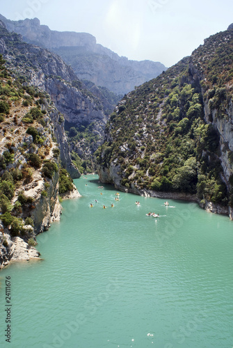 Canyon Verdon in France