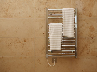 Heated Bathroom Towel Rail