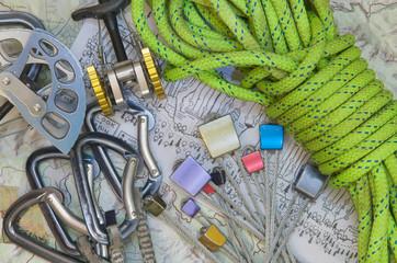 Rock Climbers Tools
