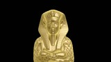 golden mummy of egypt isolated with alpha hd 1920x1080p poster