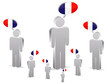 group of franch people