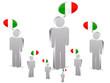 group of italian people