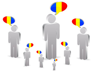 group of romanian people