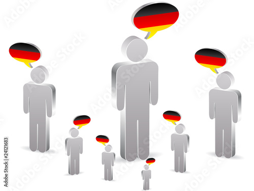 group of german people