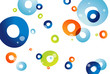 Water Bubbles background, vector