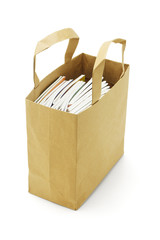 Books in paperbag