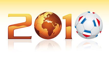 Winner of football world cup 2010