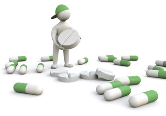 3D Man Pharmacist