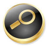 SEARCH Web Button (find online internet engine go ok now vector)