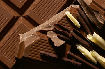 bars of chocolate