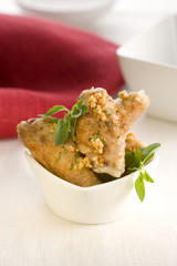 roast chicken with oregano