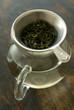 preparing tea