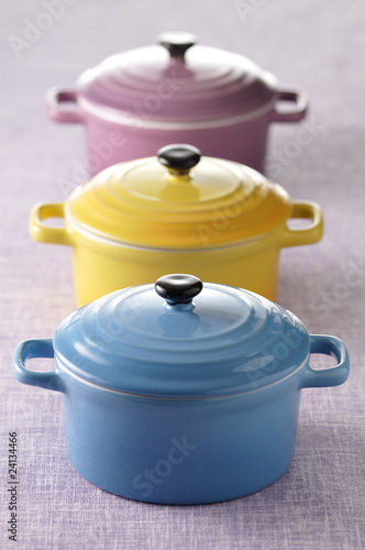 colored casserole dishes