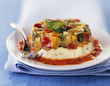 ratatouille and fromage frais terrine