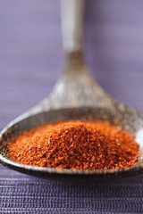 spoonful of ground cayenne pepper
