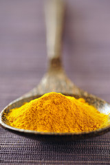 spoonful of curcuma