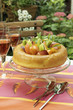 savarin with summer fruit