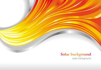 Solar background.