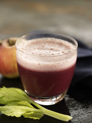 beetroot,apple and celery smoothie
