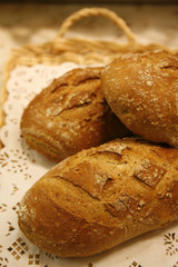 farmhouse bread loaves