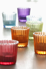 colored tealights