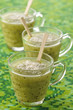 kiwi,lemon,ginger and cinnamon soup