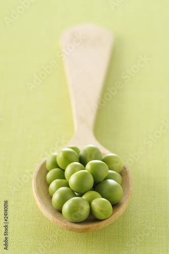 spoonful of peas