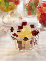 summer fruit and coconut gums