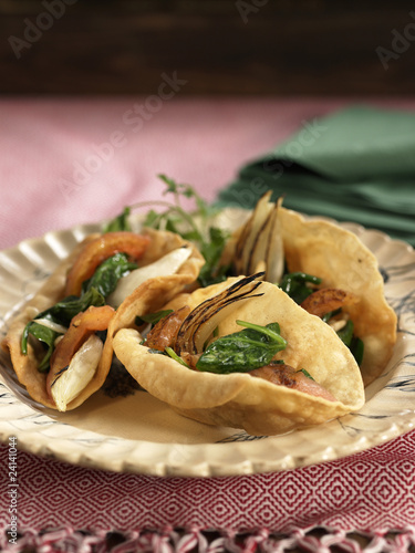 vegetable and mushroom empanandas