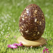 chocolate,cereal and almond easter egg