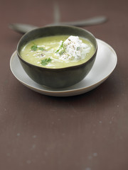 cream of sorrel soup